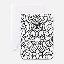 buddha1 Greeting Cards (Pk of 10)