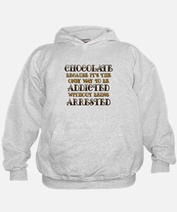 Chocolate Arrested Hoodie
