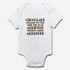 Chocolate Arrested Infant Bodysuit