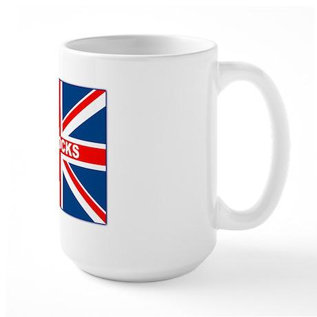 Bollocks Union Jack Large Mug