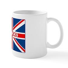 Bollocks Union Jack Small Mug