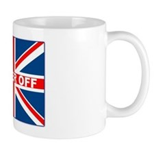 Bugger off British Small Mug