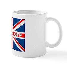 Bugger off British Small Small Mug