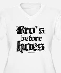 Bro's before Hoes - T-Shirt