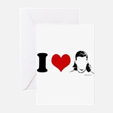 I Love Mullets ~ Greeting Cards (Pk of 20)