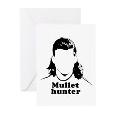 Mullet Hunter ~ Greeting Cards (Pk of 20)