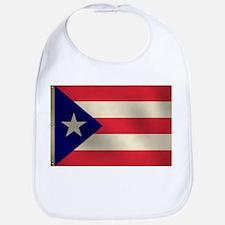Puerto Rican Flag Bib