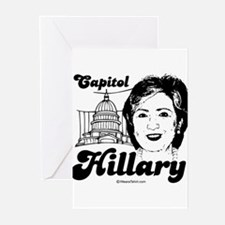 Capitol Hillary - Greeting Cards (Pk of 20)