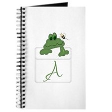 Pocket Pal Frog - Any Initial/Name Journal