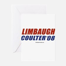 Limbaugh / Coulter 2008 Greeting Cards (Pk of 20)