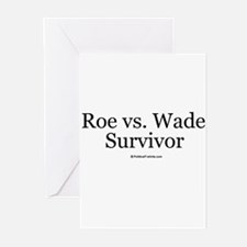 Roe vs. Wade Survivor Greeting Cards (Pk of 20)
