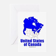 United States of Canada - Greeting Cards (Pk of 20