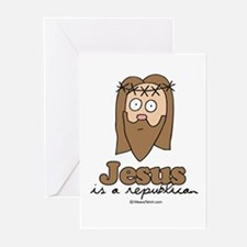 Jesus is a republican - Greeting Cards (Pk of 20)