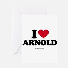 I Love Arnold - Greeting Cards (Pk of 20)