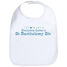 Loves St Barthelemy Girl Bib