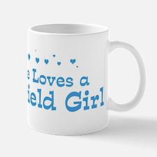 Loves Springfield Girl Mug
