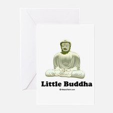 Little Buddha / Baby Humor Greeting Cards (Pk of 2