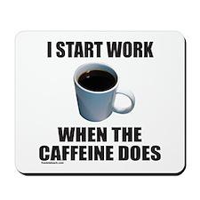 COFFEE LOVER/ADDICT Mousepad