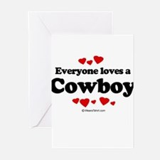 Everyone loves a cowboy Greeting Cards (Pk of 20)
