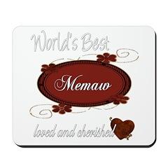 Cherished Memaw Mousepad