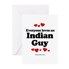 Everyone loves an Indian guy Greeting Cards (Pk of