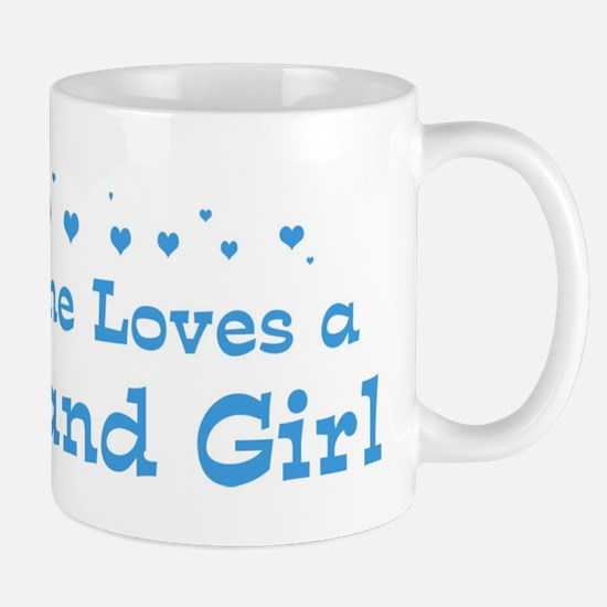 Loves Thailand Girl Mug