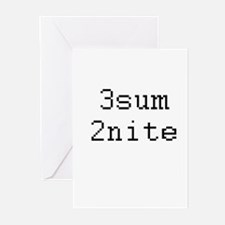 Cool Acronym internet geek Greeting Cards (Pk of 20)