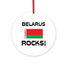Belarus Rocks! Ornament (Round)