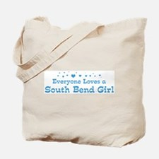 Loves South Bend Girl Tote Bag