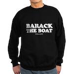 Barack the boat Sweatshirt (dark)