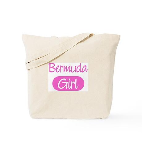 Bermuda girl Tote Bag