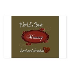Cherished Mommy Postcards (Package of 8)