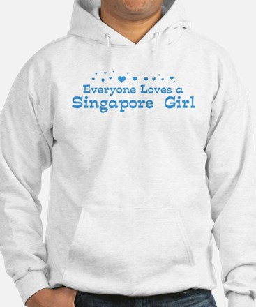 Loves Singapore Girl Hoodie