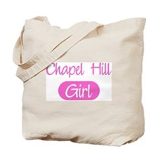 Chapel Hill girl Tote Bag