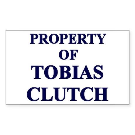 Tobias's Property Sticker