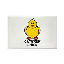 Caterer Chick Rectangle Magnet