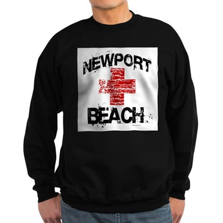 Newport Beach Lifeguard ~ Sweatshirt (dark)