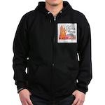 Laguna Beach - Zip Hoodie (dark)