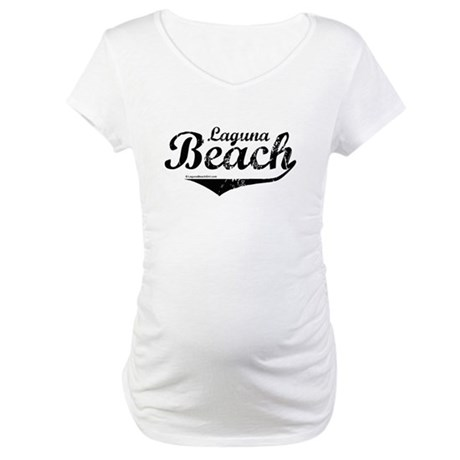 Laguna Beach ~ Maternity T-Shirt
