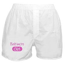 Baltimore girl Boxer Shorts