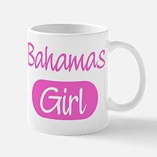Bahamas girl Small Small Mug
