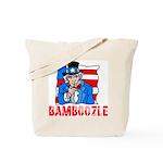 Uncle Sam Bamboozle Tote Bag