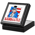 Uncle Sam Bamboozle Keepsake Box