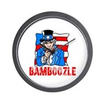 Uncle Sam Bamboozle Wall Clock