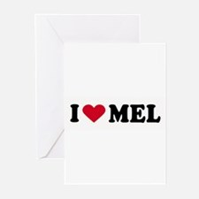 I LOVE MEL ~ Greeting Cards (Pk of 20)