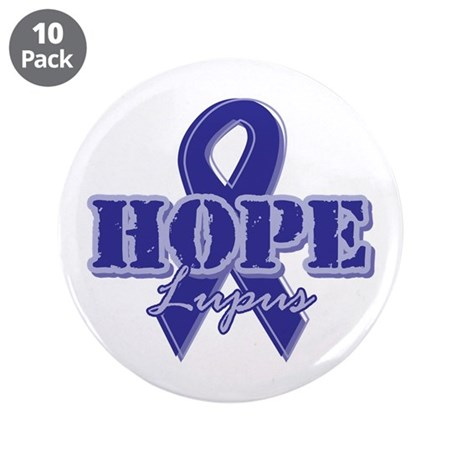 "Hope - Lupus 3.5"" Button (10 pack)"