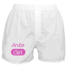 Aruba girl Boxer Shorts