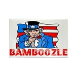 Uncle Sam Bamboozle Rectangle Magnet (100 pack)