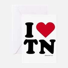 I Love Tennessee ~ Greeting Cards (Pk of 20)