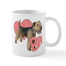 lakeland terrier heart Mug